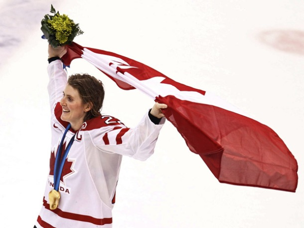 wickenheiser flag bearer