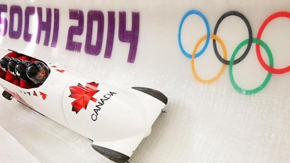 Sochi 2014 Canada's bobsled team censored by Russia