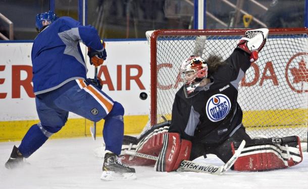 Shannon Szabados Edmonton Oilers Goalie