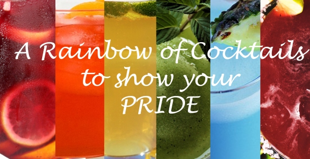 rainbow cocktails pride