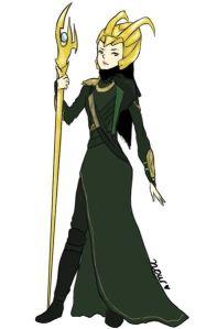 Loki, by Nora