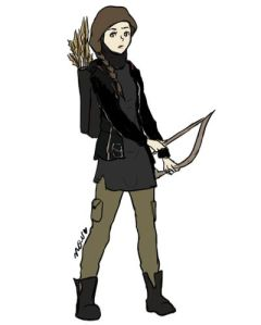 Katniss by Nora