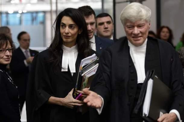 Amal Clooney Canadian feminst blog