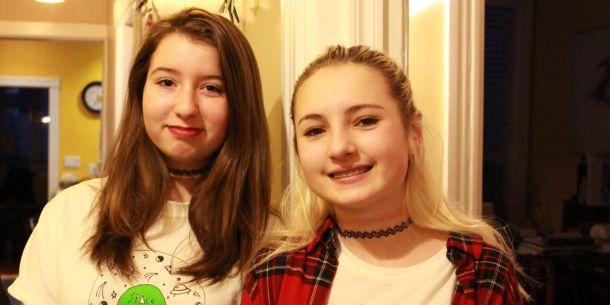 Tessa Hill (left) and Lia Valente (right)