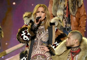 Jennifer Lopez Wears Racist DSquared Couture to the American Music Awards